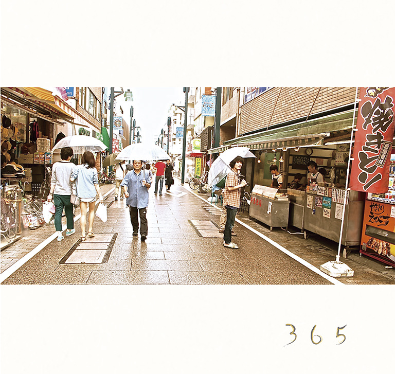 2nd mini album「365」